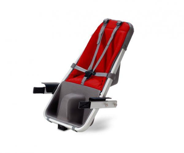 Second Child Seat - Rosso - Accessori Taga Bike