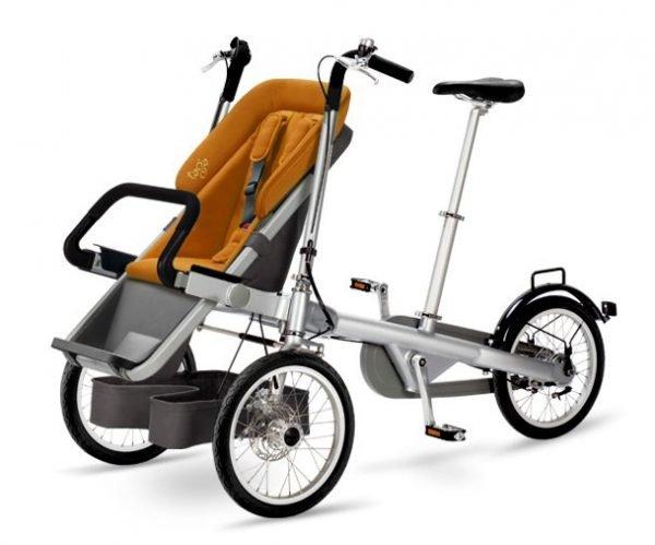 taga bike bicicpasseggino arancione