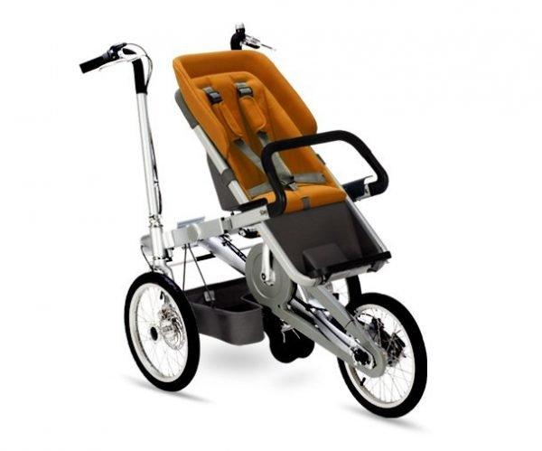 taga bike bicipasseggino arancione passeggino
