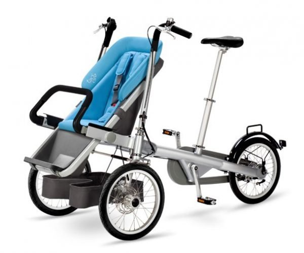 taga bike passeggino blue