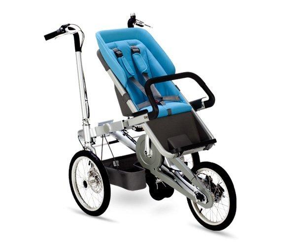 taga bike bicipasseggino blue passeggino