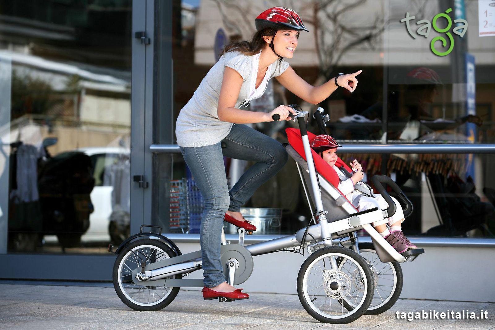 portare bambini in bici in sicurezza