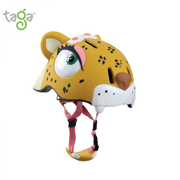 Casco leopardo romantico