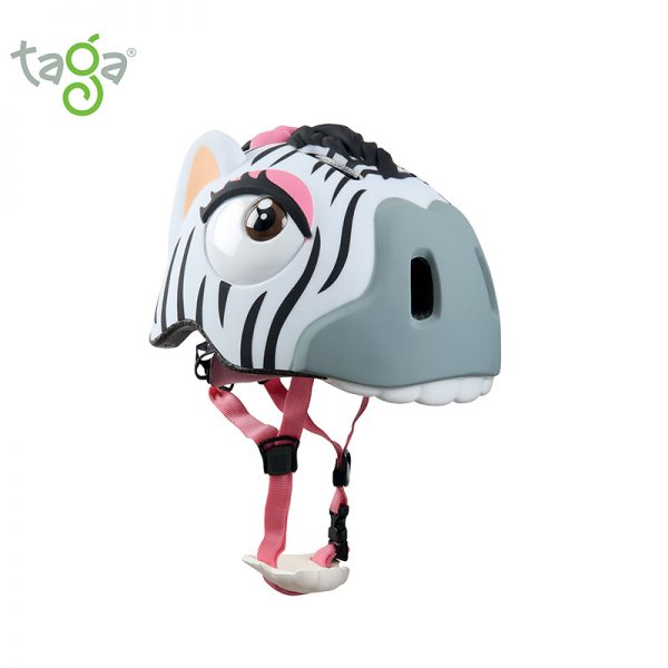 Casco zebra sprint