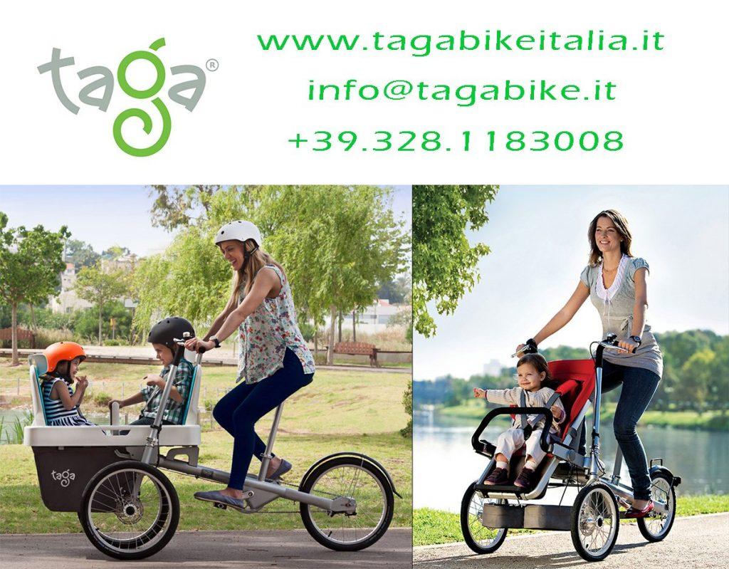 Bicicletta A Tre Ruote Che Sia Una Semplice Bici O Una Cargo