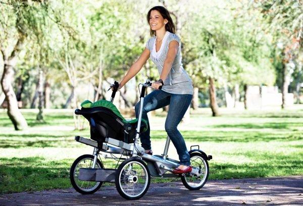 Comment faire du vélo avec les nouveau-nés