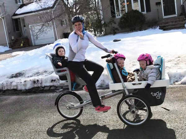 SICHERHEIT BEIM FAHRRAD FAHREN mit Kindern 1 bis 4 Kinder sicher transportieren
