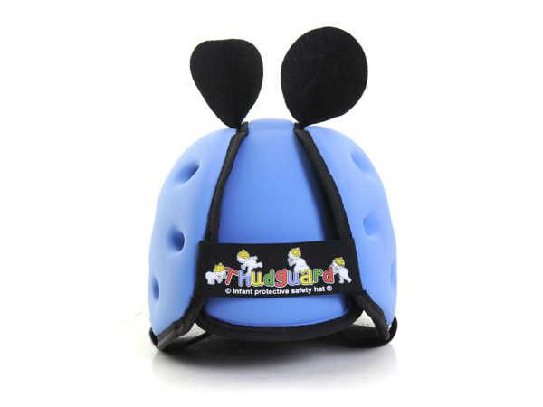 Casco neonato colore azzurro_