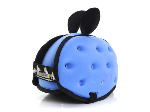 Casco neonato colore azzurro__
