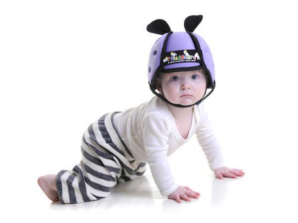 Casco neonato colore lilla___
